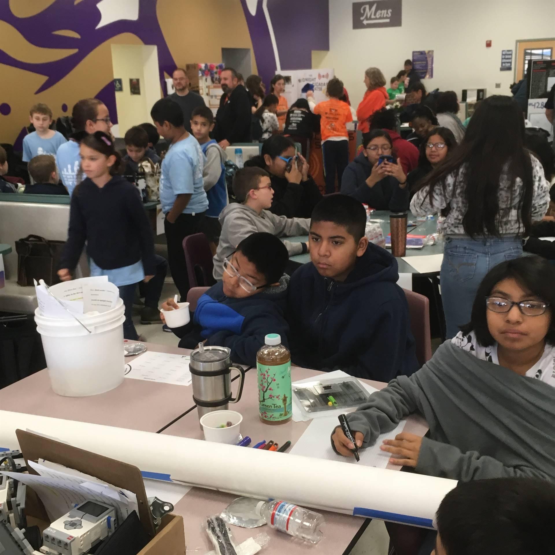 FLL Tournament at Queen Creek High School
